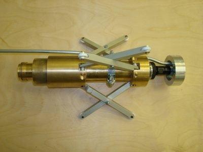 Каретка для окраски труб малых диаметров